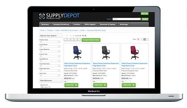 S2K Enterprise Portal on a Laptop